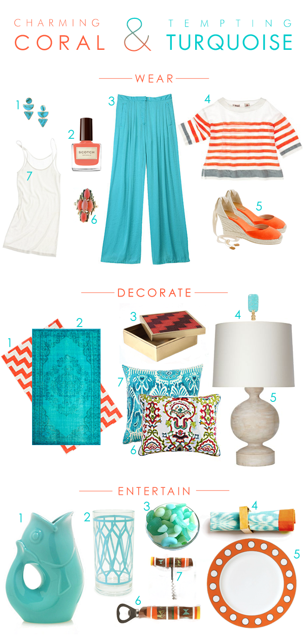 Turquoise-Coral-Pops-Decorate-Wear-Entertain