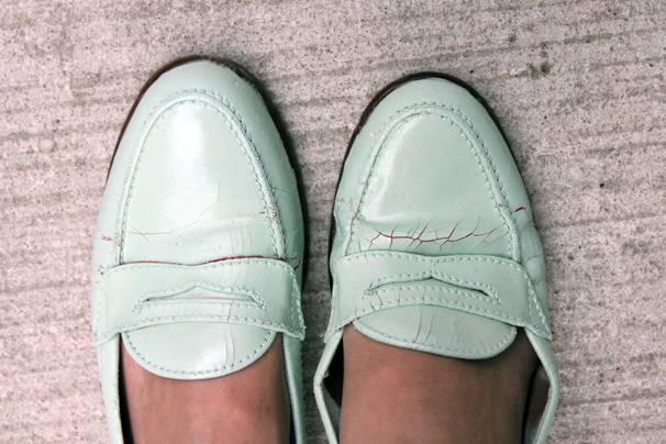 Mint-Loafers