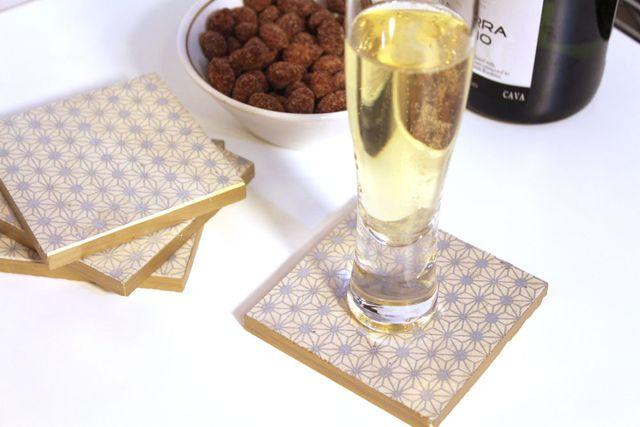 DIY-Metallic-Silver-Gold-Coasters-Holiday