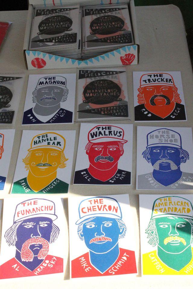 Mustache-Baseball-Cards-Maker-Faire