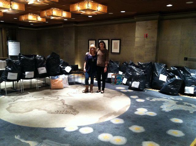 Natalie-Soud-Brett-Bara-Sandy-Craftalong-Donations
