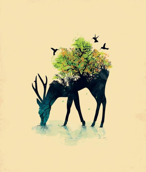 Deer-Print