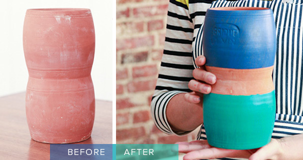 Pantone-Valspar-Lowes-Before-After-Vase