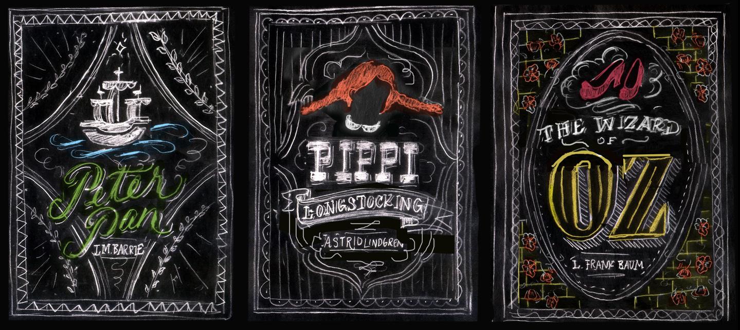 Watercolor book covers - Dana Tanamachi Puffin Chalk Book Sketches 4