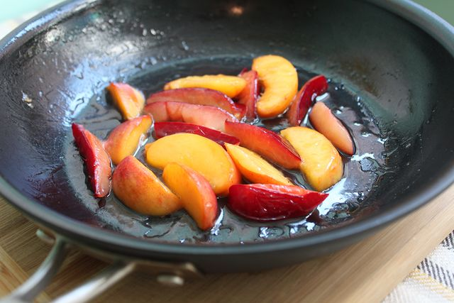 Sauteed-Peaches-Plums-Coconut-Oil-Honey